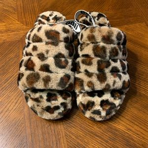 Ugg Fluff Yeah (Leopard)
